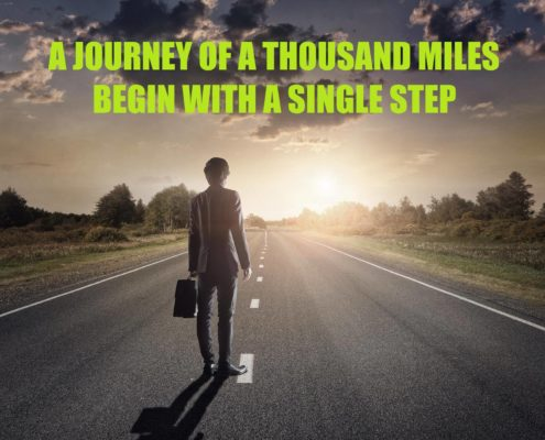 journey of a thousand mile